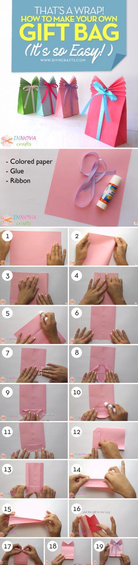 cách xếp họp giấy đơn giản, cách xếp hộp quà đơn giản bằng giấy