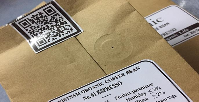 Việc sử dụng các túi giấy hữu cơ có lỗ thông khí giúp sản phẩm bên trong giữa được độ an toàn cao