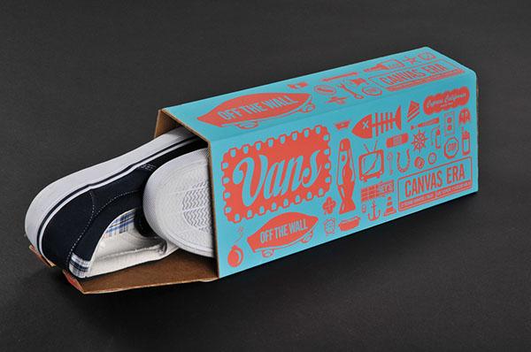 In hộp giầy kiểu cách độc đáo