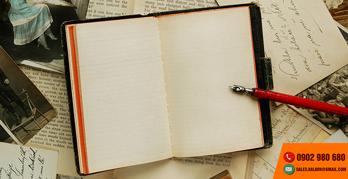 Nhận gia công in sổ tay ghi chép công việc, sổ tay ghi chú công việc
