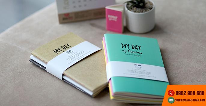 Đơn vị thiết kế và in ấn sổ tay mini, sổ tay cute, sổ tay planner