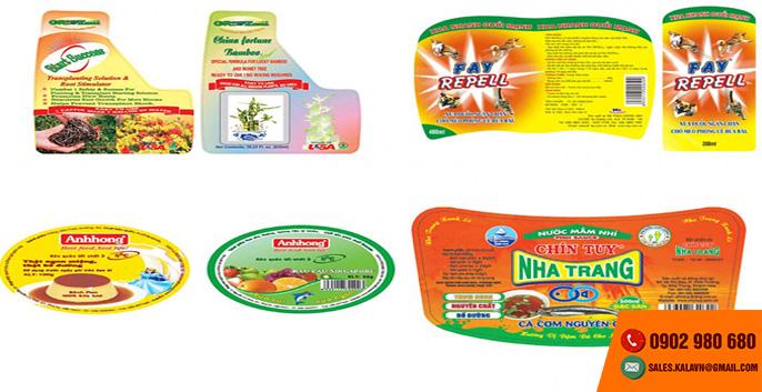 KALA nhận in nhãn decal tại tphcm