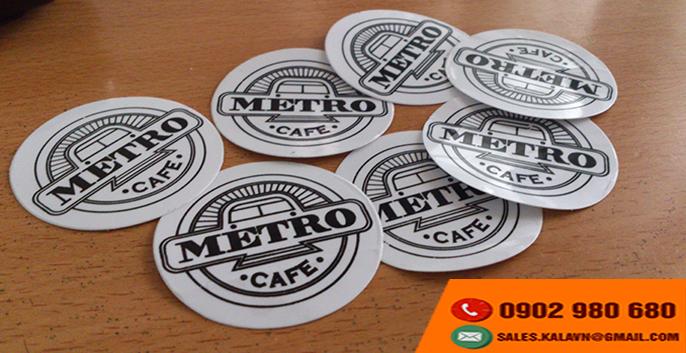 In in sticker lẻ, in sticker dán, in sticker giá rẻ tphcm