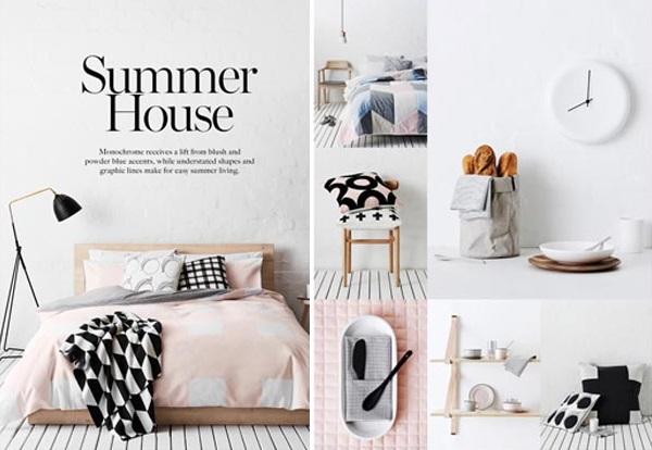 Mẫu mẫu brochure nội thất phòng ngủ tông màu hiện đại mà ấm cúng