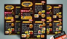 In menu nhựa giá rẻ TPHCM