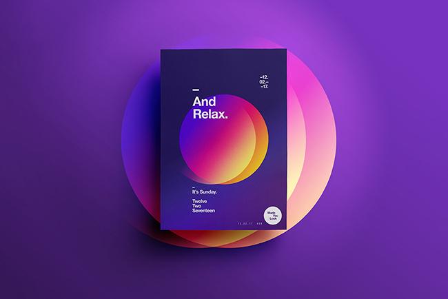 TOP 5 xu hướng màu Gradient sáng tạo ấn tượng 2020 2