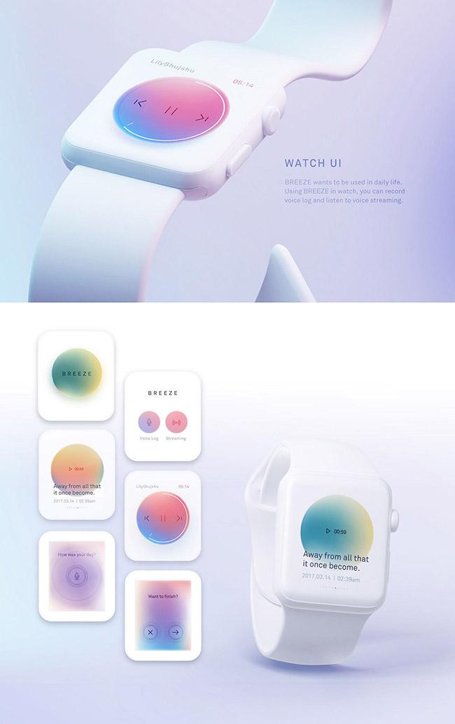 TOP 5 xu hướng màu Gradient sáng tạo ấn tượng 2020 6