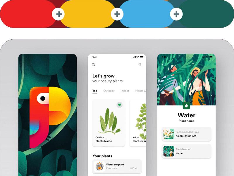 6 Nguyên tắc phối màu trong thiết kế thông dụng nhất 07 | KALAPRESS.VN
