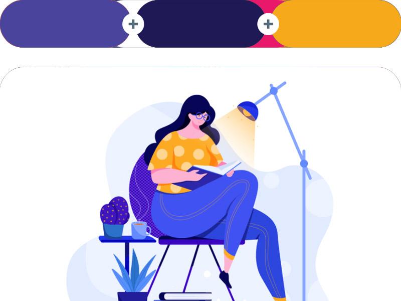 6 Nguyên tắc phối màu trong thiết kế thông dụng nhất 27 | KALAPRESS.VN