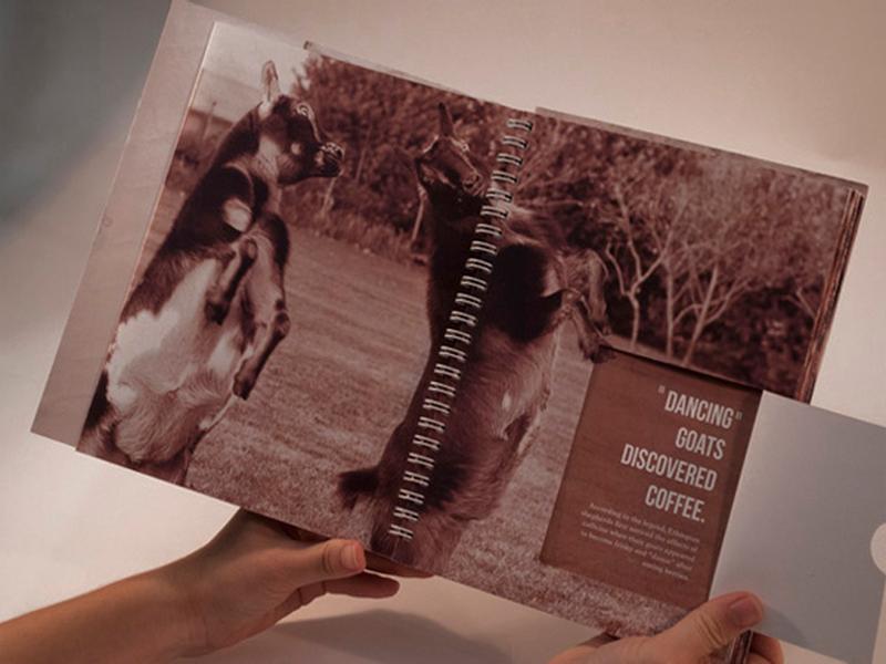 Đóng sách lò xo a little coffee book 02 | KALAPRESS.VN