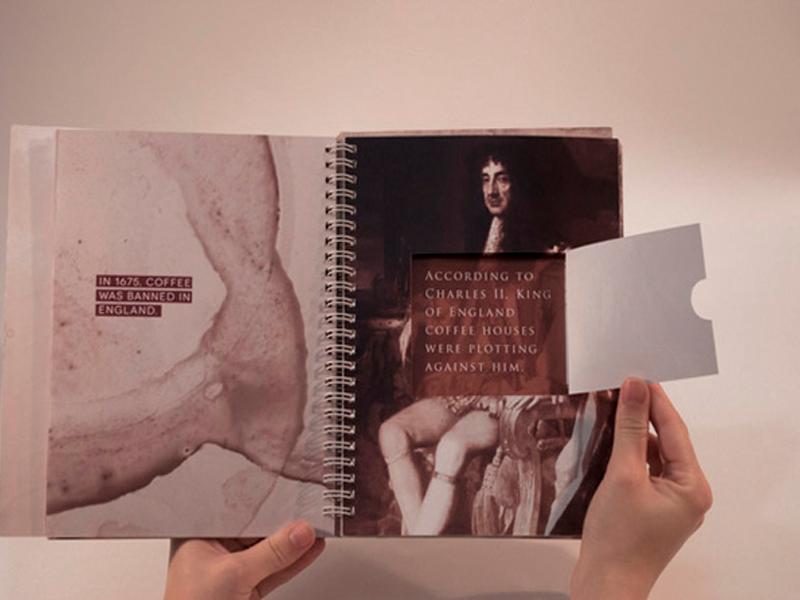 Đóng sách lò xo a little coffee book 04 | KALAPRESS.VN