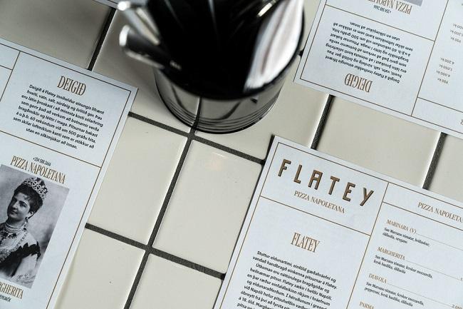 Cảm hứng từ bộ nhận diện thương hiệu Pizza Flatey 2