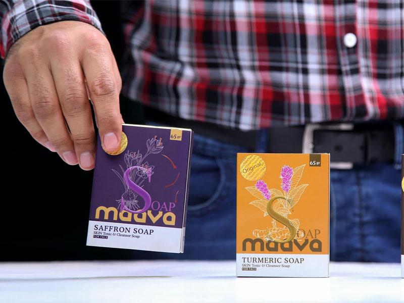Hộp giấy xà phòng thảo dược Mava 04 | KALAPRESS.VN