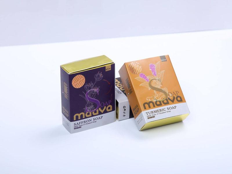 Hộp giấy xà phòng thảo dược Mava 06 | KALAPRESS.VN