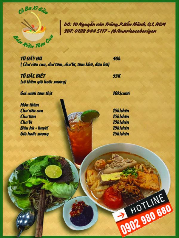 In menu nhựa giá rẻ TPHCM 07 | KALAPRESS.COM