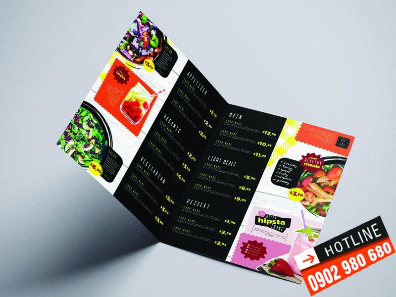 In menu nhựa giá rẻ TPHCM 01 | KALAPRESS.COM