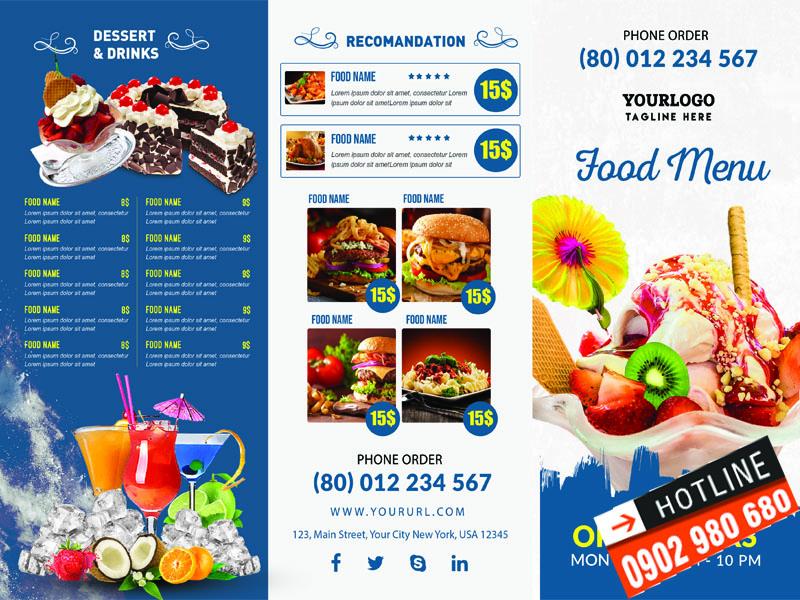 In menu nhựa giá rẻ TPHCM 10 | KALAPRESS.COM