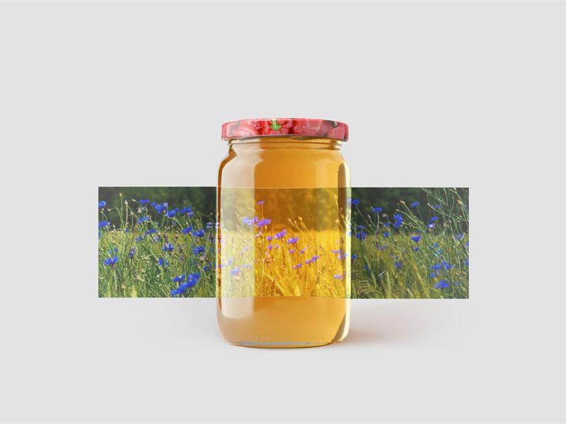 In tem nhãn decal giấy Bashkir Honey 04 | KALAPRESS.VN