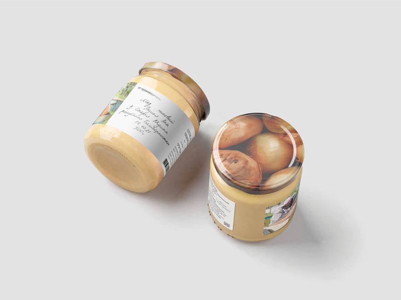 In tem nhãn decal giấy Bashkir Honey 06 | KALAPRESS.VN