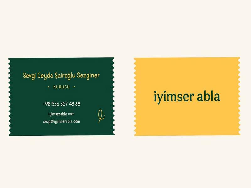 Iyimser Abla - Mẫu tem nhãn đậm chất truyền thống, tự nhiên 01 | KALAPRESS.VN