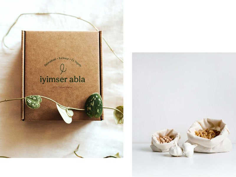 Iyimser Abla - Mẫu tem nhãn đậm chất truyền thống, tự nhiên 04 | KALAPRESS.VN