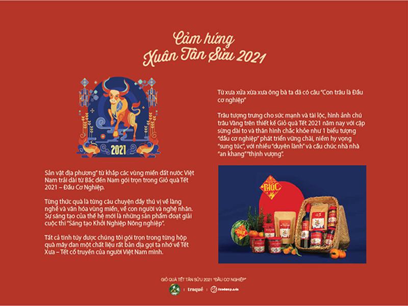Khám phá thiết kế bao bì giỏ quà Tết 2021 03 | KALAPRESS.VN