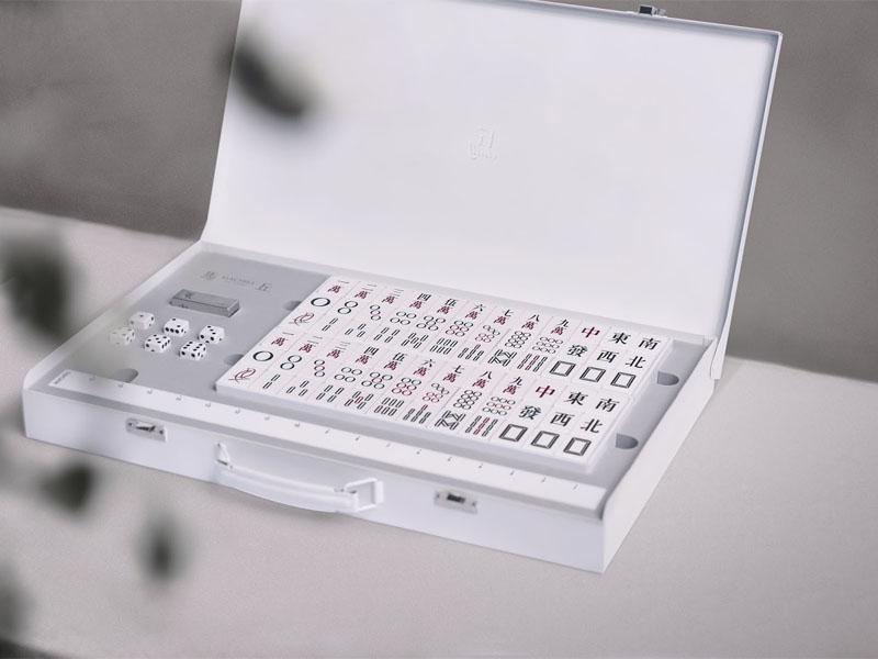 Mẫu thiết kế bao bì sản phẩm mạt chược Machill 02| KALAPRESS.VN