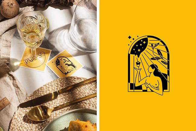 Mẫu thiết kế bao bì vỏ chai rượu đậm chất thi thơ 4