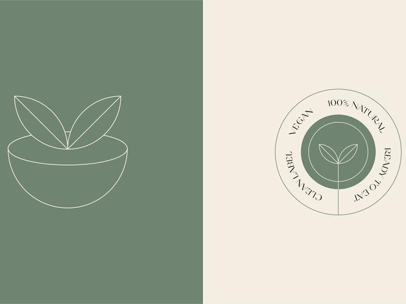 Mẫu thiết kế và in tem nhãn sản phẩm Coco Vegan 02   KALAPRESS.VN