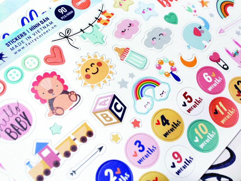Nhận in sticker số lượng ít tại Hồ Chí Minh 1