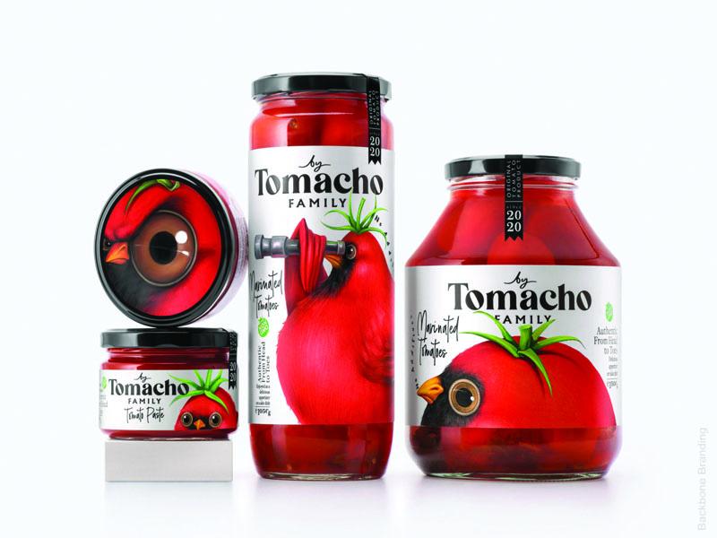 thiet ke bao bi va tem nhan tomacho 10