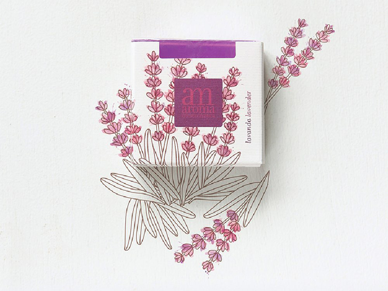 Mẫu thiết kế bao bì giấy xà phòng Aroma Mediterranea 10 | KALAPRESS.VN