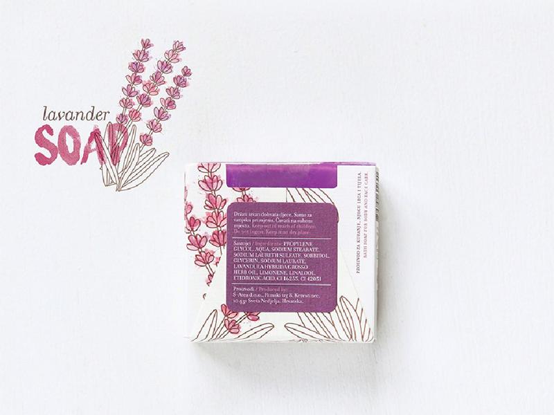 Mẫu thiết kế bao bì giấy xà phòng Aroma Mediterranea 11 | KALAPRESS.VN