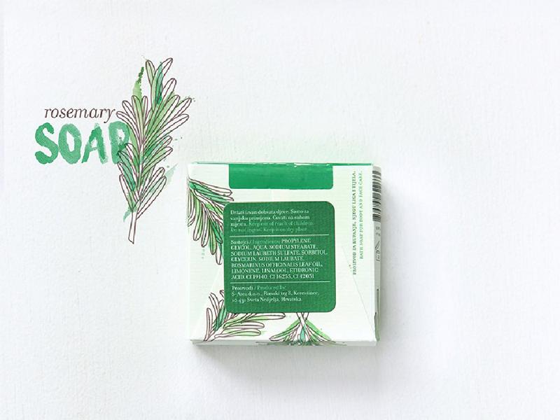 Mẫu thiết kế bao bì giấy xà phòng Aroma Mediterranea 16 | KALAPRESS.VN