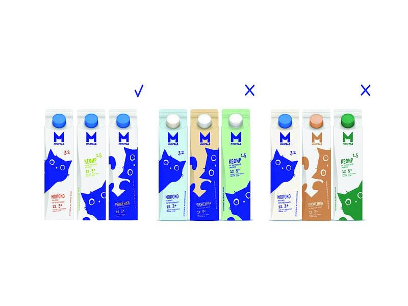 Thiết kế và in hộp giấy đựng sữa tươi Milgrad 04 | KALAPRESS.VN