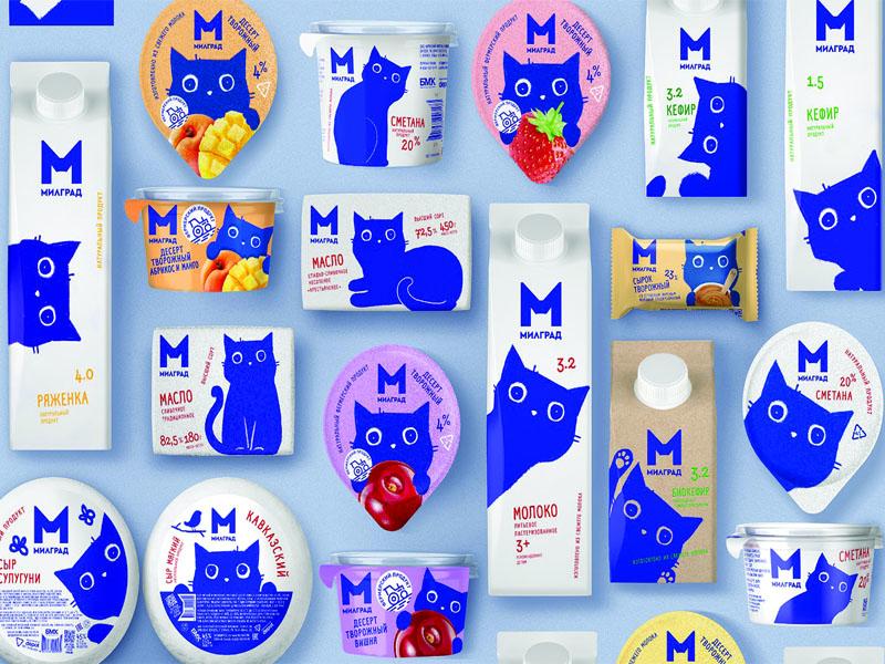 Thiết kế và in hộp giấy đựng sữa tươi Milgrad 09 | KALAPRESS.VN