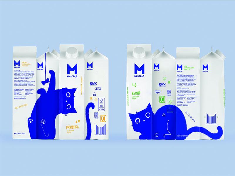 Thiết kế và in hộp giấy đựng sữa tươi Milgrad 11 | KALAPRESS.VN
