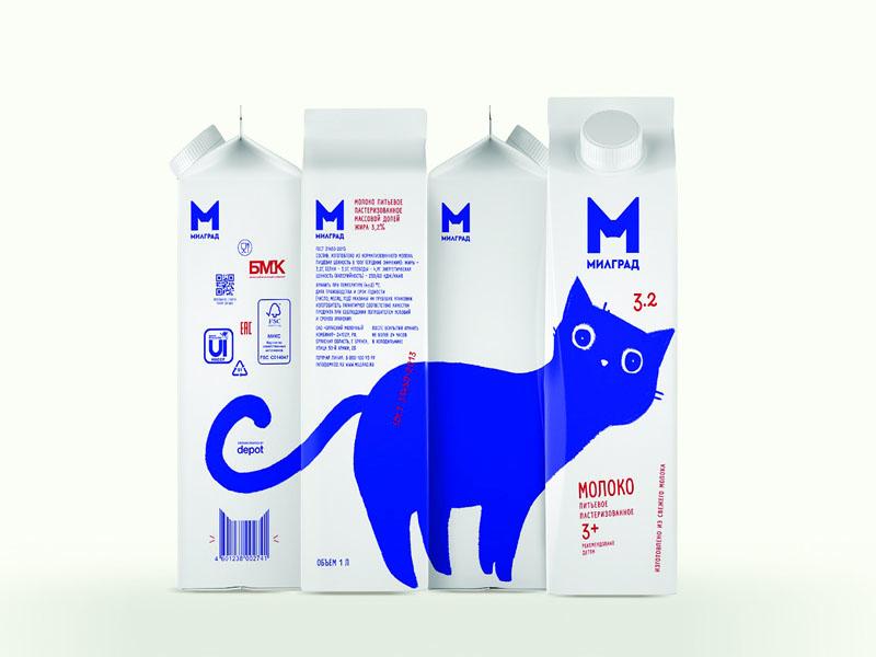 Thiết kế và in hộp giấy đựng sữa tươi Milgrad 12 | KALAPRESS.VN