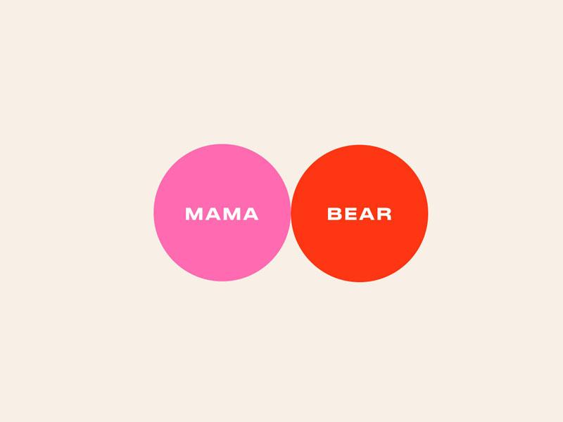 Thiết kế và in tem dán sản phẩm Mama Bear Core Range 03 | KALAPRESS.VN