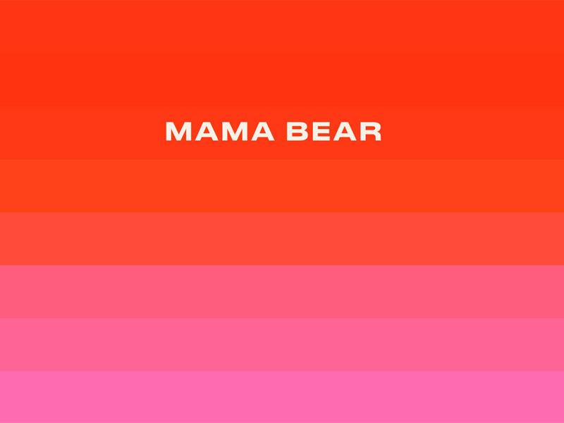 Thiết kế và in tem dán sản phẩm Mama Bear Core Range 04 | KALAPRESS.VN