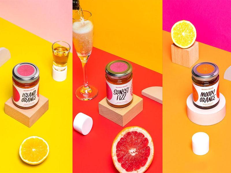 Thiết kế và in tem dán sản phẩm Mama Bear Core Range 09 | KALAPRESS.VN