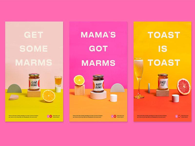 Thiết kế và in tem dán sản phẩm Mama Bear Core Range 11 | KALAPRESS.VN