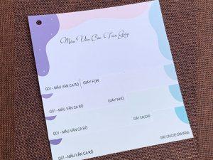 Bộ Mẫu Vân Caro G02 | Công Ty In Ấn KALAPRESS