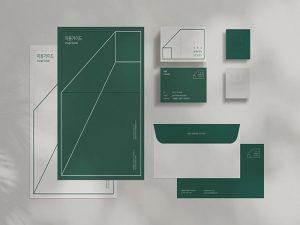 Cảm hứng thiên nhiên trong bộ nhận diện thương hiệu Green Study 10 | IN KALAPRESS