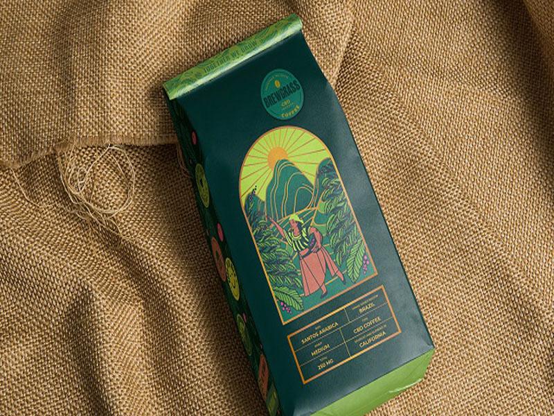 CBD Coffee - Mẫu thiết kế bao bì cà phê nhập tràn nắng gió 01   IN KALAPRESS