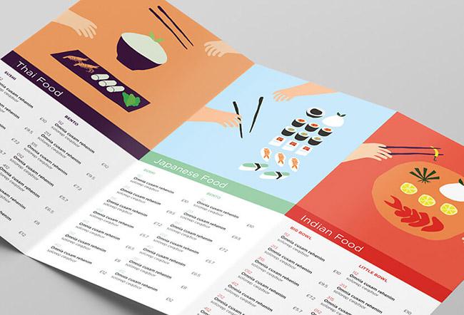 Sáng tạo thiết kế Menu với những ý tưởng độc đáo trong 2020 6