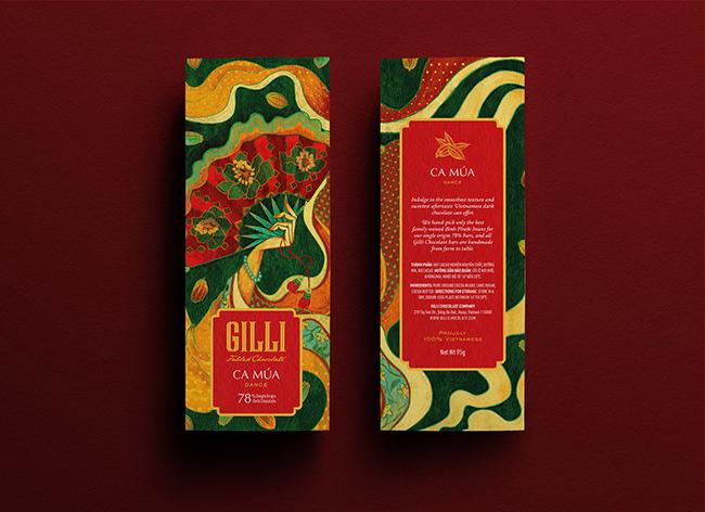 Mẫu thiết kế in ấn bao bì chocolate đặc trưng văn hóa Việt 2 - NASH VIỆT NAM