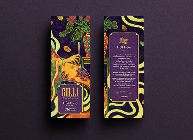 Mẫu thiết kế in ấn bao bì chocolate đặc trưng văn hóa Việt 4 - NASH VIỆT NAM