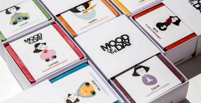 Bộ thiết kế bao bì xà phòng Mood of the Day 1 - KALAPRESS.VN