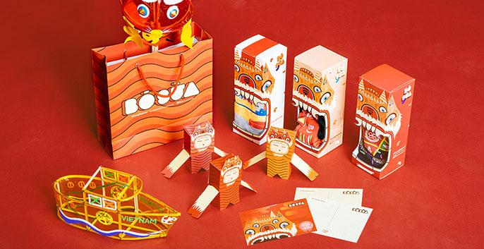 Những mẫu thiết kế và in ấn hộp bánh trung thu đầy sáng tạo 2 - Công ty thiết kế KALAPRESS
